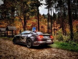 Ford Mustang jako samochód do nauki jazdy