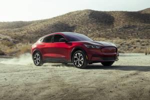 Ford Mustang Mach E 2021 dane techniczne