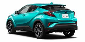 Toyota C HR Hybrid dostepne napedy