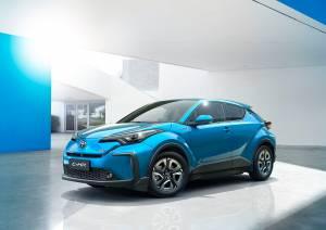 Toyota C0HR dostepne wersje wyposazenia