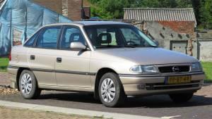 Opel Astra F dane techniczne silniki opinie