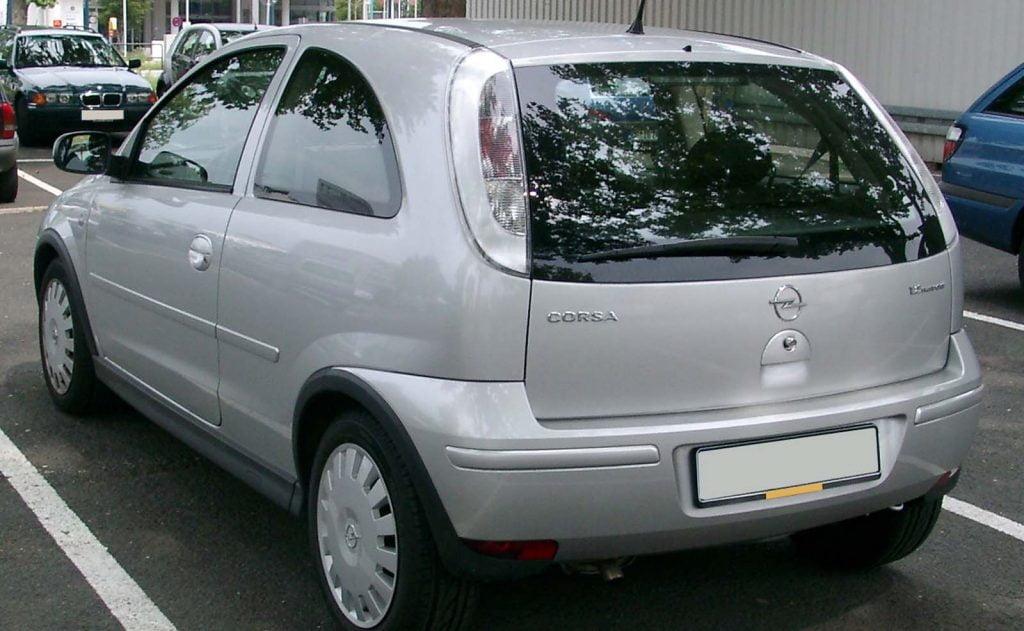 Opel Corsa tyl